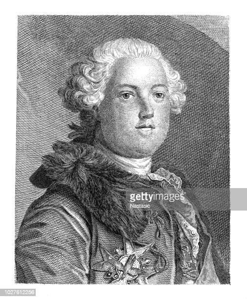 joseph ii (1741-1790), holy roman emperor - lorraine stock illustrations, clip art, cartoons, & icons