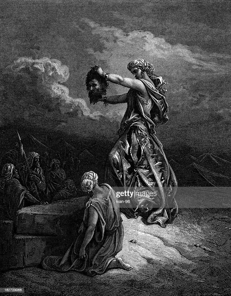 Judith's victory : stock illustration