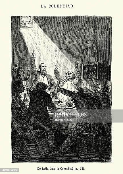 Jules Verne - Feast in the Columbiad