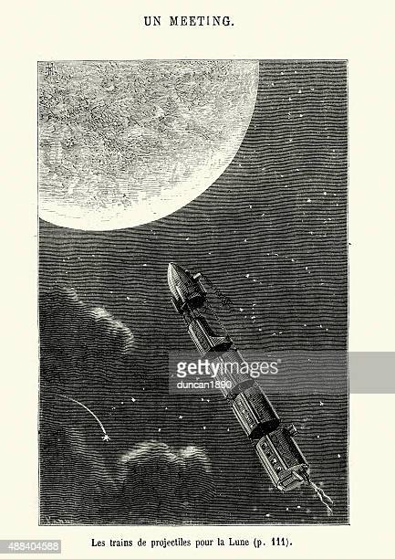 Jules Verne - Projectile Trains for the Moon