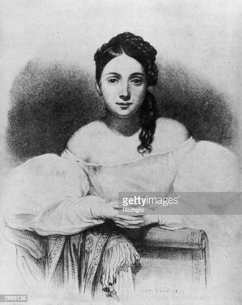 Juliette Drouet the actress and mistress of the writer Victor Hugo