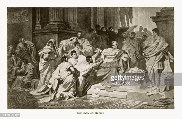 Julius Caesar, The Ides of March Engraving