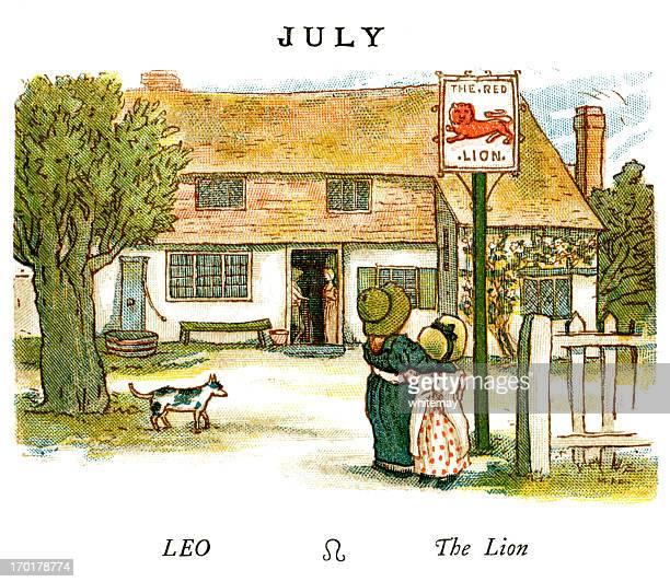 July - Kate Greenaway, 1884