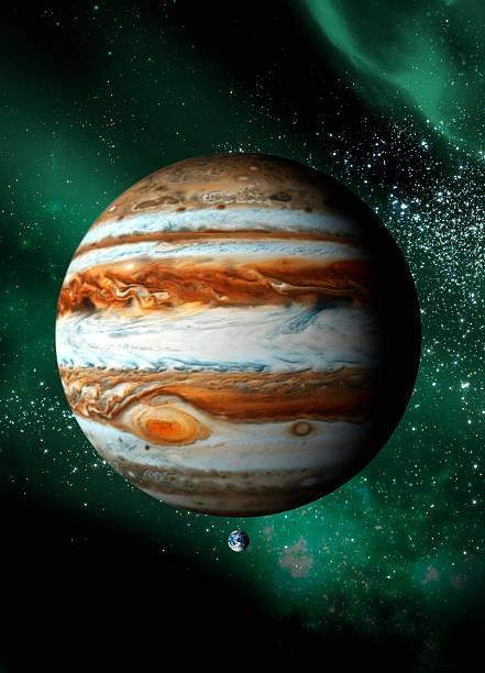 Jupiter And Earth, Artwork Wall Art