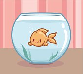 Kawaii Goldfish