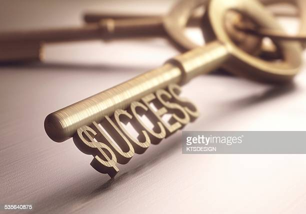 Key to success, illustration