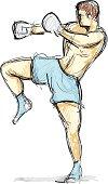 kickboxer sketch