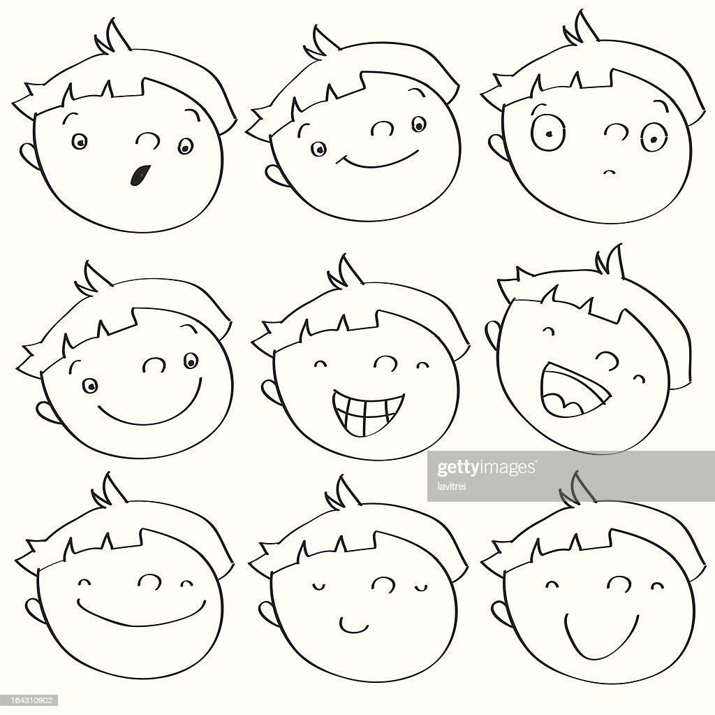 kid face expressions