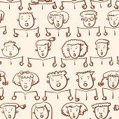 Kids Choir Pattern.