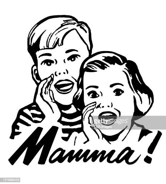 Kids Yelling Mamma