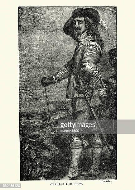 king charles i - cavalier cavalry stock illustrations, clip art, cartoons, & icons