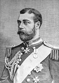 King George V, seen here as young Prince of Wales b. June 1865