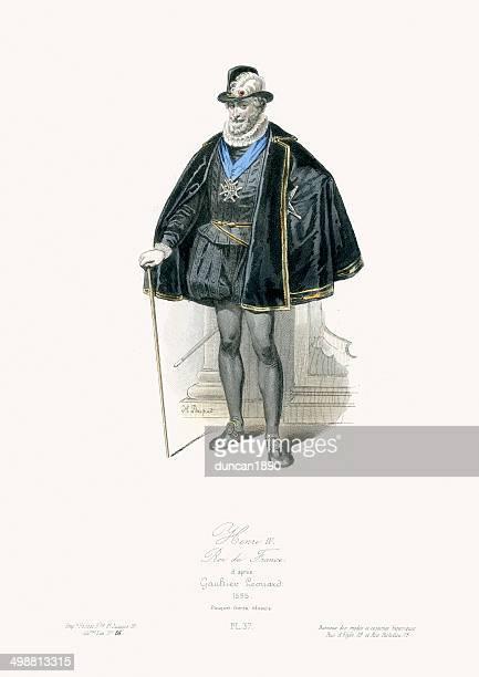 king henri iv of france - henri iv of france stock illustrations