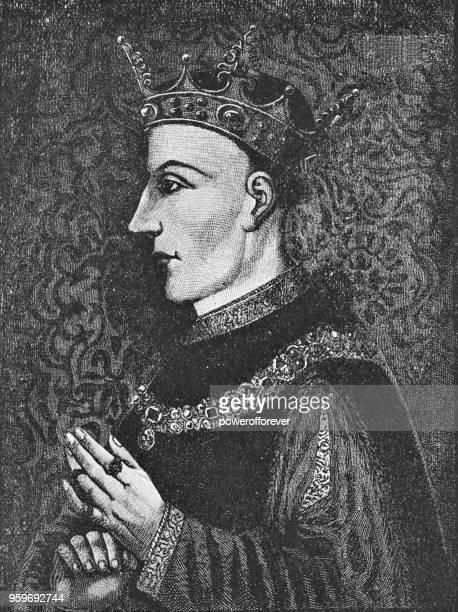 king henry v of england - 15th century - henry v of england stock illustrations, clip art, cartoons, & icons