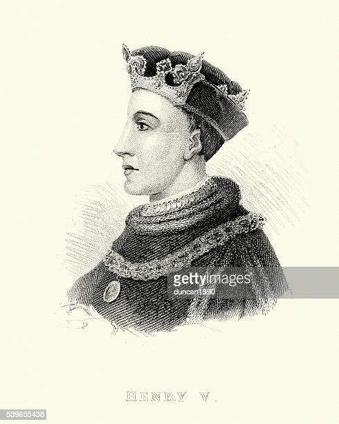 king henry v of england - henry v of england stock illustrations, clip art, cartoons, & icons