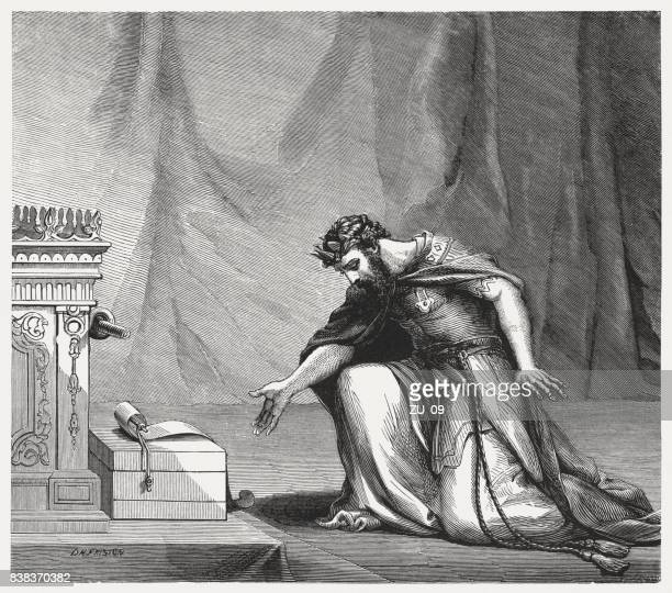 King Hezekiah and the letter of Sennacherib (Isaiah 37, 14)