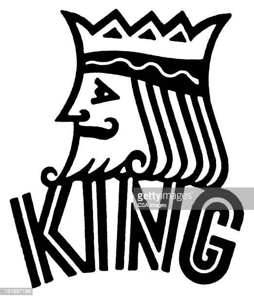 60点のキングのカードのイラスト素材クリップアート素材マンガ素材