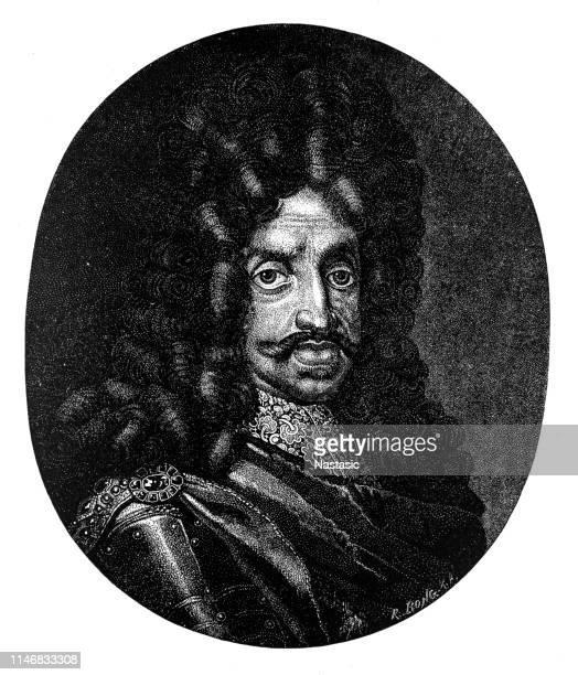 king leopold i - hapsburg dynasty stock illustrations