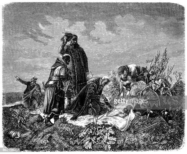 King Ludwig death in Battle of Mohács