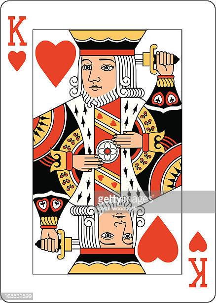 King of Hearts Two playing card