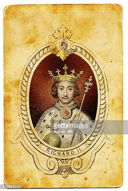 king richard ii of england - king royal person stock illustrations, clip art, cartoons, & icons