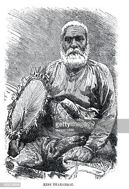 King Thakombau of the Fiji Islands