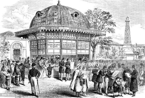 Quiosco en la exposición de París de 1867