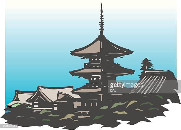 京都のイラスト素材と絵 Getty Images
