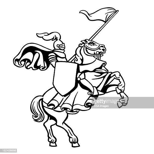 Knight de cría de caballos