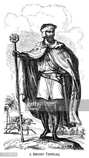 Knight Templar (Victorian woodcut)