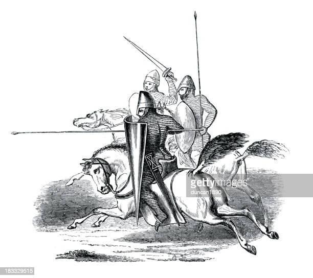 Knights on Horseback 12th Century