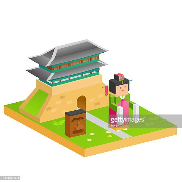 54 Hanbok Stock Illustrations Clip Art Cartoons Icons Getty Images