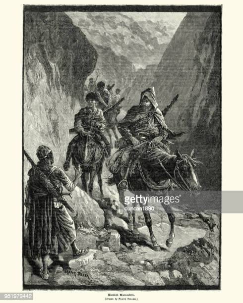 Kurdish marauders, 19th Century