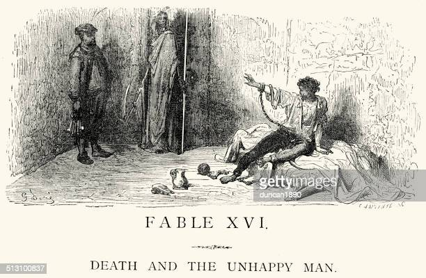 La Fontaine's Fables - Death and the Unhappy Man