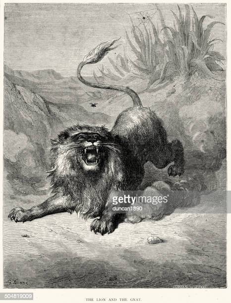 La Fontaine's Fables - The Lion and the Gnat