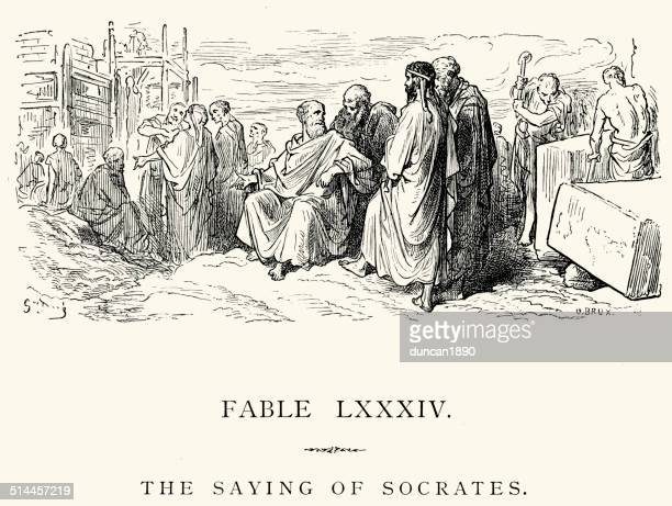 La Fontaine's Fables - The Saying of Socrates