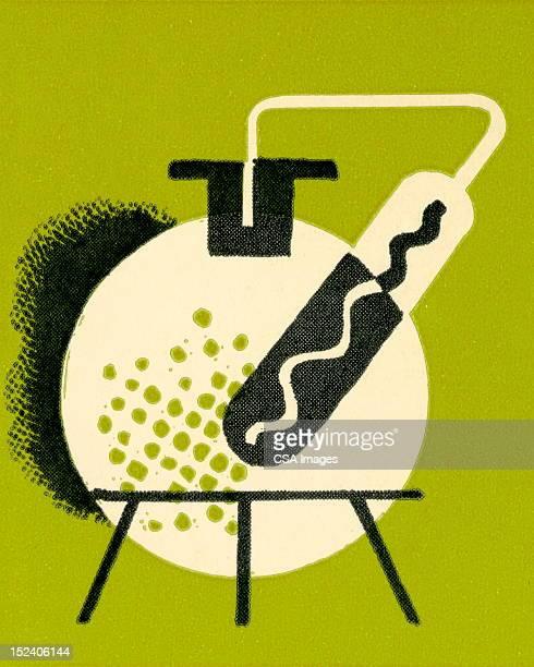 lab ビーカー - 医療研究所点のイラスト素材/クリップアート素材/マンガ素材/アイコン素材