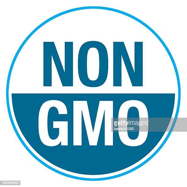 non gmo label - genetic modification stock illustrations, clip art, cartoons, & icons