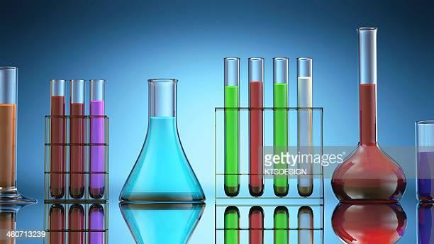 Laboratory glassware, artwork