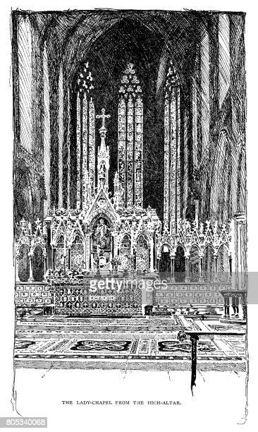 Lady chapel at Lichfield cathedral