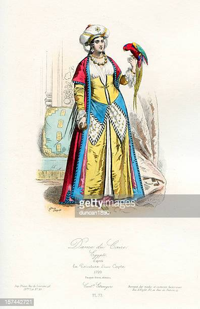 Lady of Cairo traditional costume
