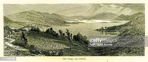 Lake George near Caldwell, New York