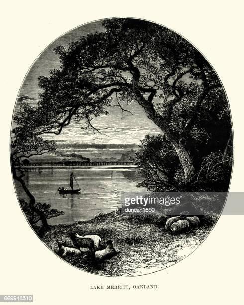 Lake Merritt, Oakland, California, 19th Century