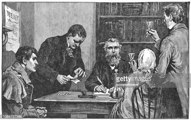 Landlord Before the Irish Coercion Act in Ireland - 19th Century