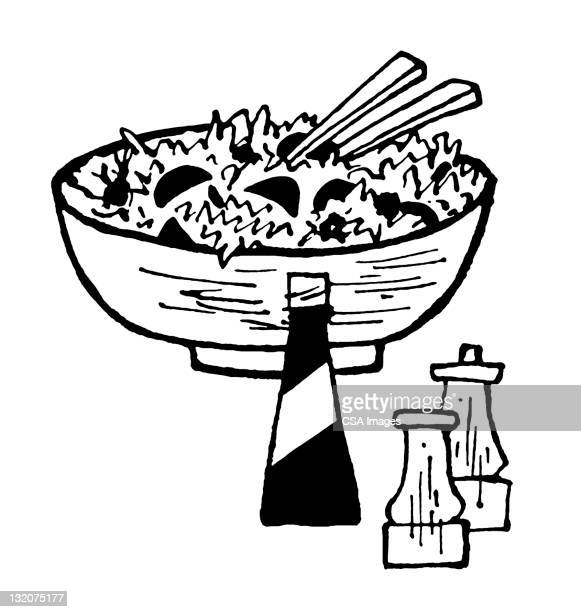 30 Meilleurs Salad Bowl Illustrations Cliparts Dessins