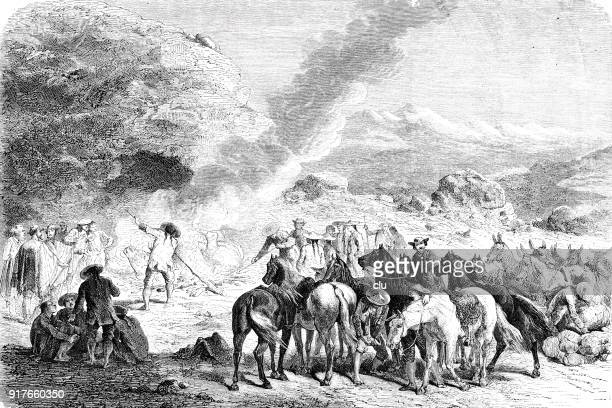 large tour group in peru - 1877 stock illustrations, clip art, cartoons, & icons