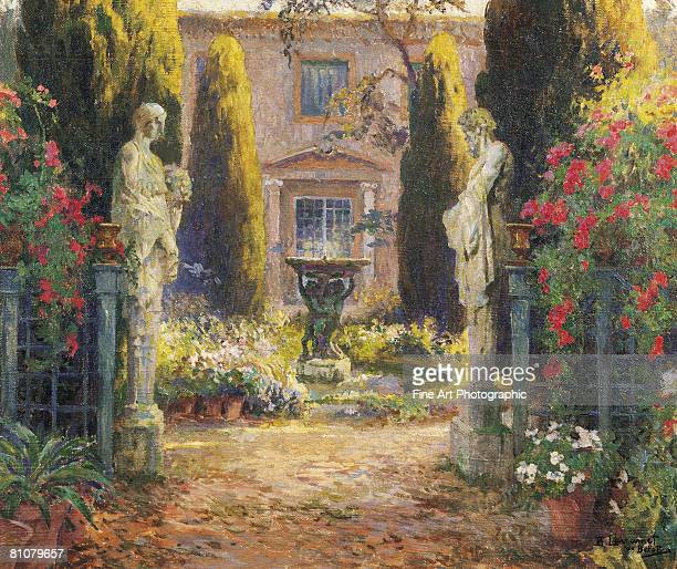 larramet de belot - impressionism stock illustrations