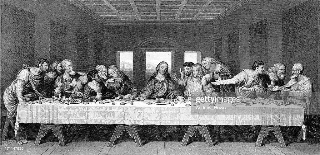 Last Supper : stock illustration