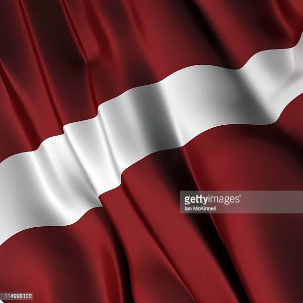 desenhos animados e ilustrações de stock de bandeira da letónia