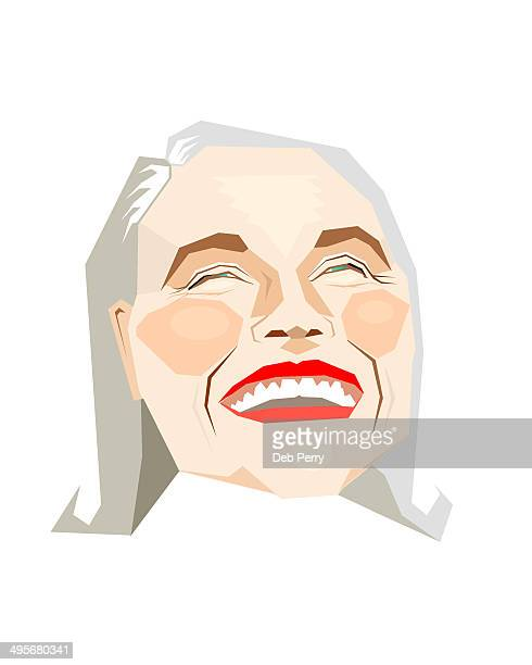 Laughing, mature woman